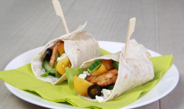 Griechische Tortillas